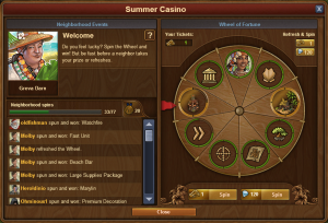 FOE Summer Casino